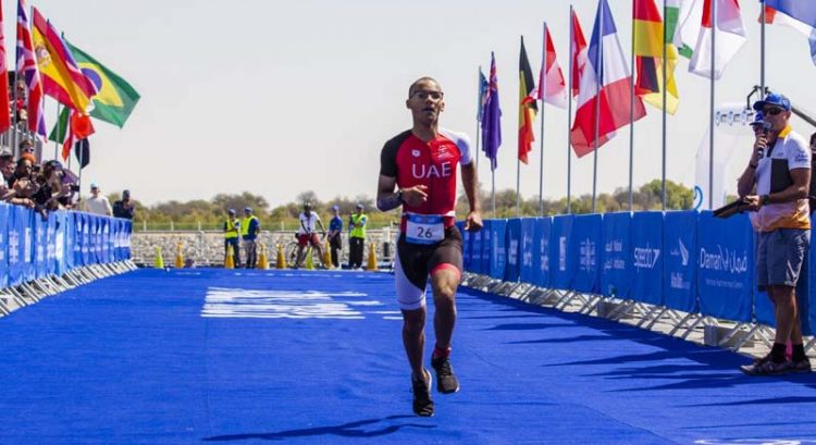 UAE wins gold for triathlon in Abu Dhabi Special Olympics