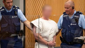 Christchurch mosque shooting suspect charged with murder