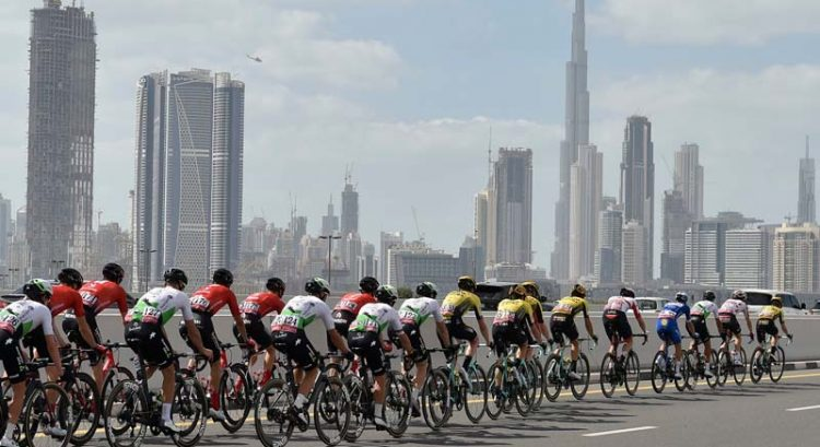Pictures: Hundreds of cyclists race through Dubai