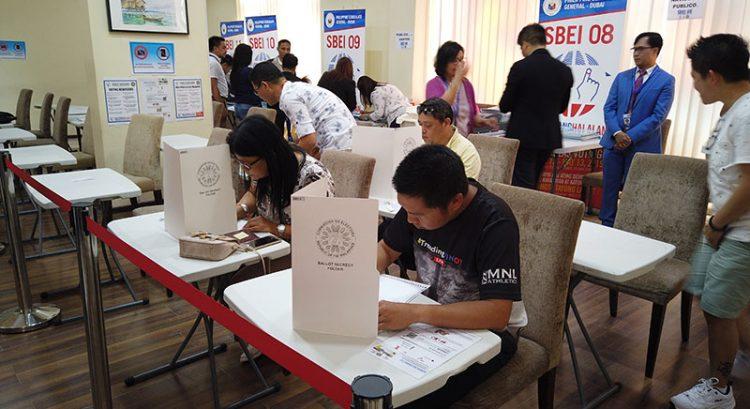 Filipinos in UAE start voting in absentee polls