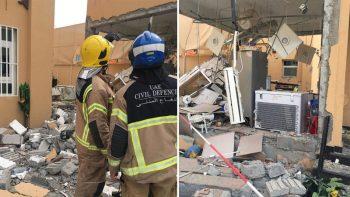 Gas cylinder explodes in Ajman villa, 1 hurt