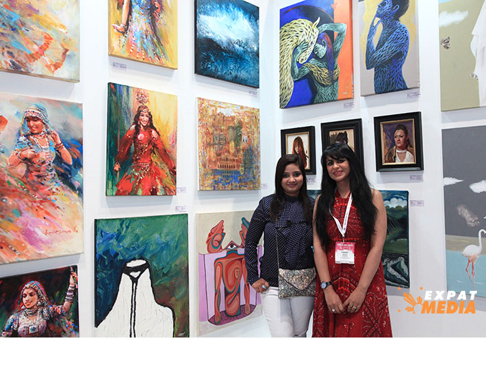 World Art Dubai 2019 at DWTC. JONATHAN YBERA/EXPAT MEDIA