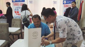 Don't take photo of your ballot, Filipino voters in UAE told
