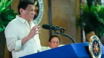 Duterte to Filipinos: Choose what is 'good and uplifting'