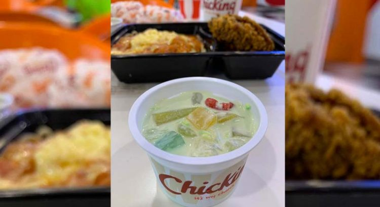 Finding Filipino fruit salad in UAE fast food