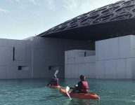 Visiting Louvre Abu Dhabi just got even cooler with kayak ride