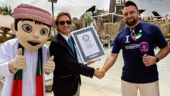 Yas Waterworld bags new world record