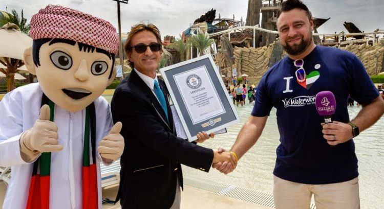 Yas Waterworld bags new world record