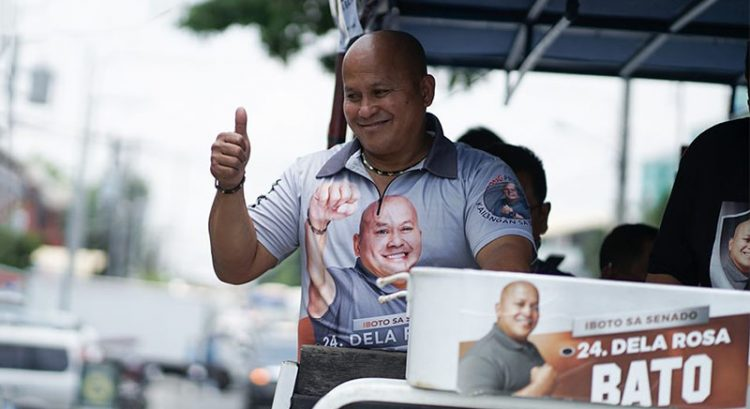 Bato Dela Rosa tops Filipino expat poll vote in UAE