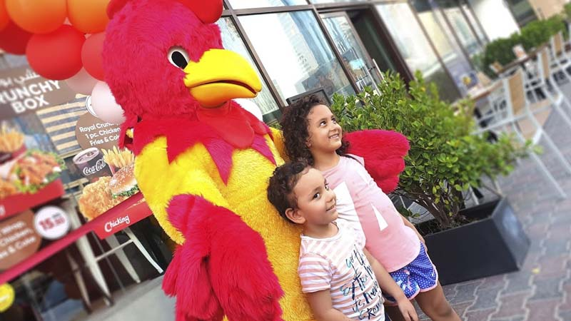 Chicking opens outlet in Aspin Tower, Sheikh Zayed Road