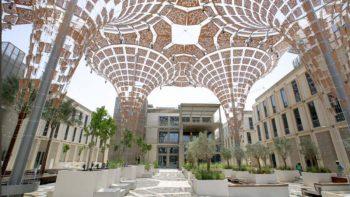 Sneak peek of Dubai Expo 2020 petal-shaped districts