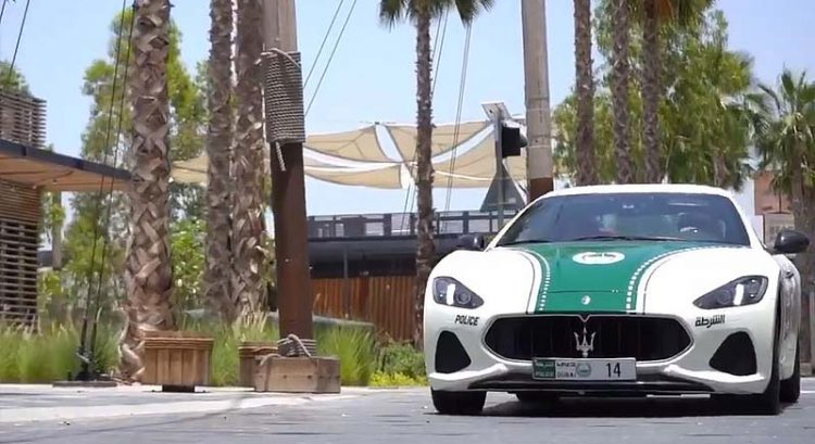 New Dubai Police patrol car is Maserati GranTurismo