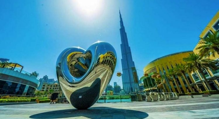 New heart sculpture unveiled in Dubai