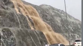 Watch: Hail, thunderstorm hit Fujairah, parts of UAE