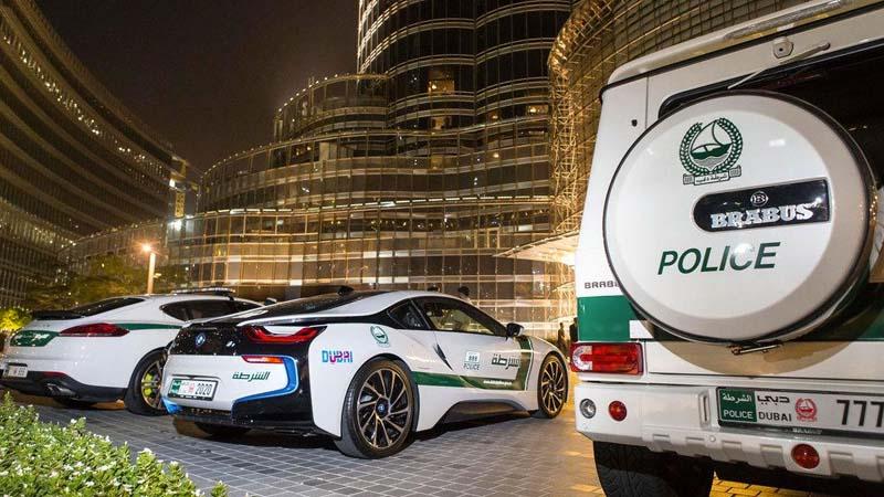 Dubai Police supercar