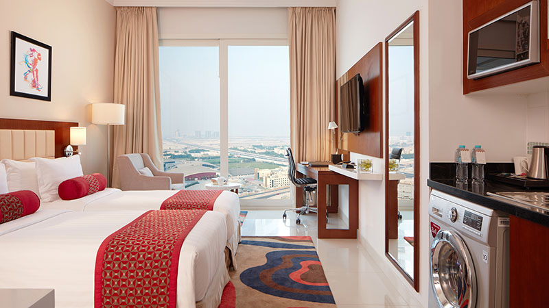 A suite in Treppan Hotel & Suites by Fakhruddin.