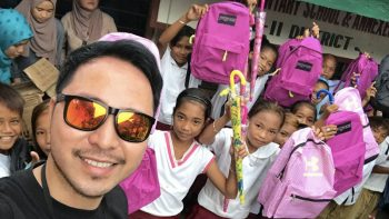 Dubai expat heads to remote Philippine island on beautiful mission