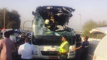 Driver in Dubai bus crash that killed 17 faces Dh3.4 million blood money