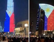 Watch Burj Khalifa, DFC light up in Philippine colours