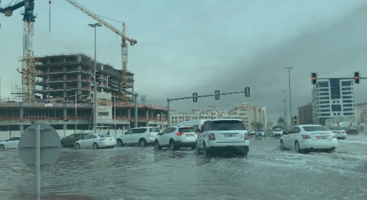More rain forecast as waterlogged Dubai roads slow down traffic