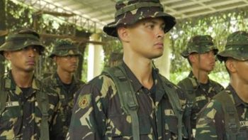 Look: Actor Matteo Guidicelli's life in Philippine Army