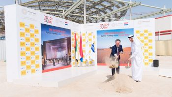Netherland unveils water from air at Expo 2020 groundbreaking
