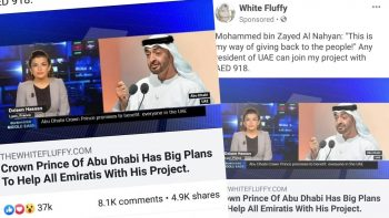 Scam targets thousands in UAE, Facebook takes action