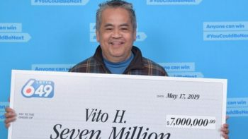 Filipino janitor wins Dh18 million 2 days before birthday