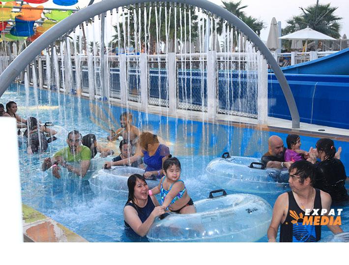 During the Kabayan Weekend at Laguna Waterpark in Dubai on June 28, 2019. JONATHAN YBERA/EXPAT MEDIA