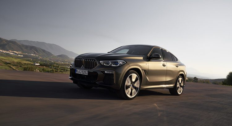 New BMW X6: first look at Sports Activity Coupe