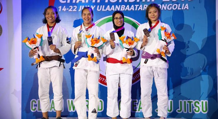 UAE Falcons continue medal haul in Jiu-Jitsu