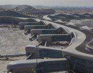 Hundreds test new Abu Dhabi airport terminal