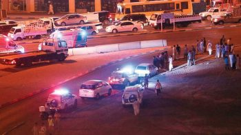 Motorcycle crashes into bus in Sharjah, 2 killed