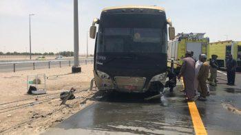 Abu Dhabi bus crash: 52 Makkah pilgrims saved