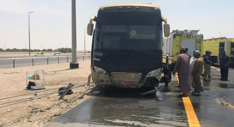 Abu Dhabi bus crash: 52 Makkah pilgrims saved
