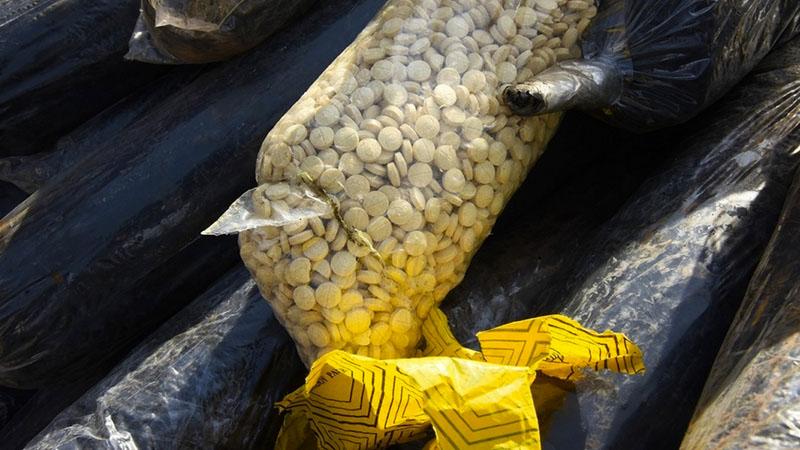 illegal drugs seized in Dubai