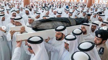 Sharjah ruler's son Sheikh Khalid buried, 3-day mourning begins