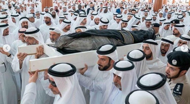 Sharjah ruler's son Sheikh Khalid buried, 3-day mourning begins