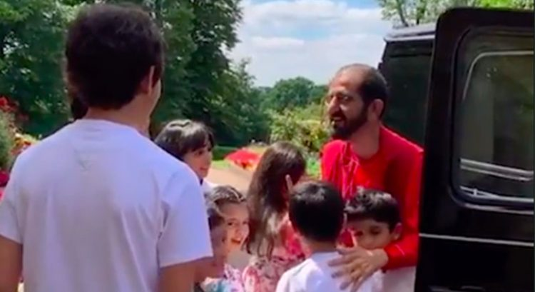 Watch Sheikh Mohammed showered with hugs in birthday video