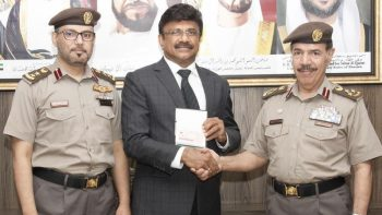Sharjah issues its first gold visa