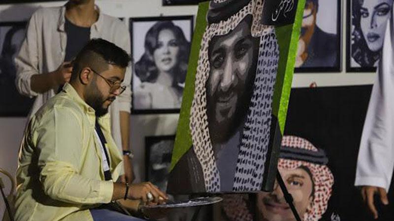 Saudi artist Talal Al-Abbasi