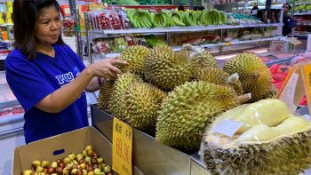 World's smelliest fruit durian spotted in Dubai