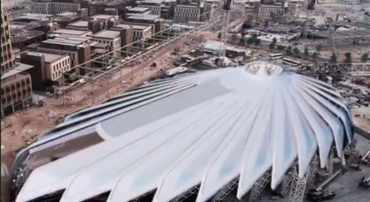 UAE's falcon-inspired Expo 2020 pavilion: sneak peek