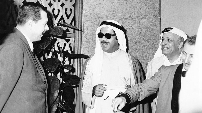 Saif Al Ghurair with Mohammed Rashid Al Daoor. Also seen is Essa Saleh Al Gurg. Image Credit: DCCI