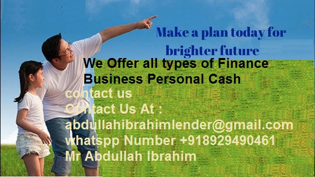 Are you in need of finance? we give out guarantee cash?