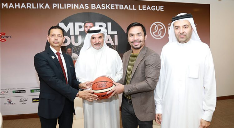 Manny Pacquiao to 'put on show' for Filipino fans in Dubai