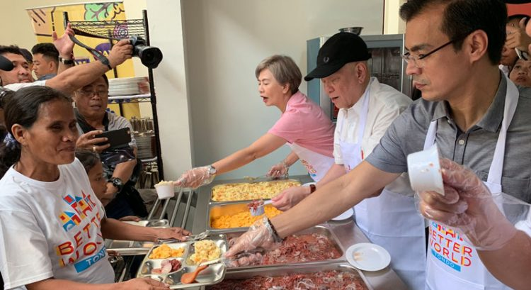 Filipino mogul Ramon Ang to provide daily meals to 1 million