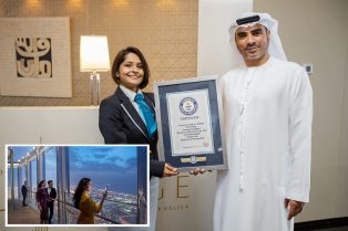 It's official! Dubai has world's highest lounge