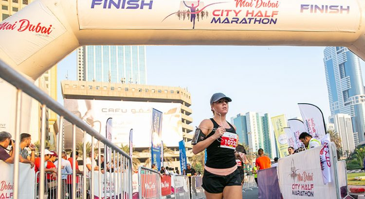 More than 2,000 take on Dubai city half marathon