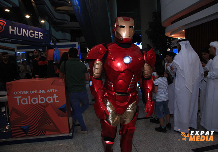 At Insomnia Dubai in Meydan Grandstand on October 17, 2019. JONATHAN YBERA/EXPAT MEDIA